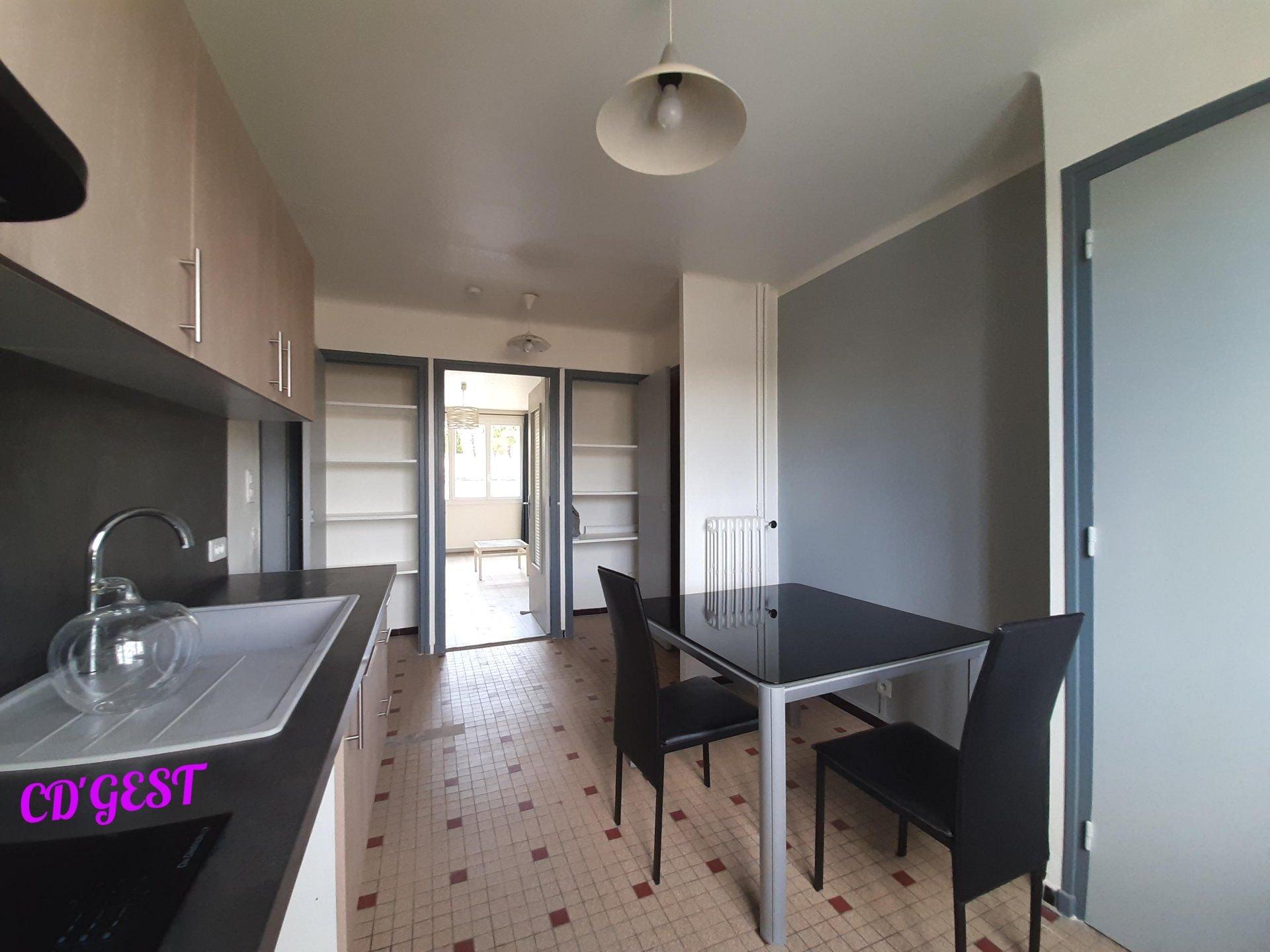 Appartement  T2 Meublé : 49.26 m2
