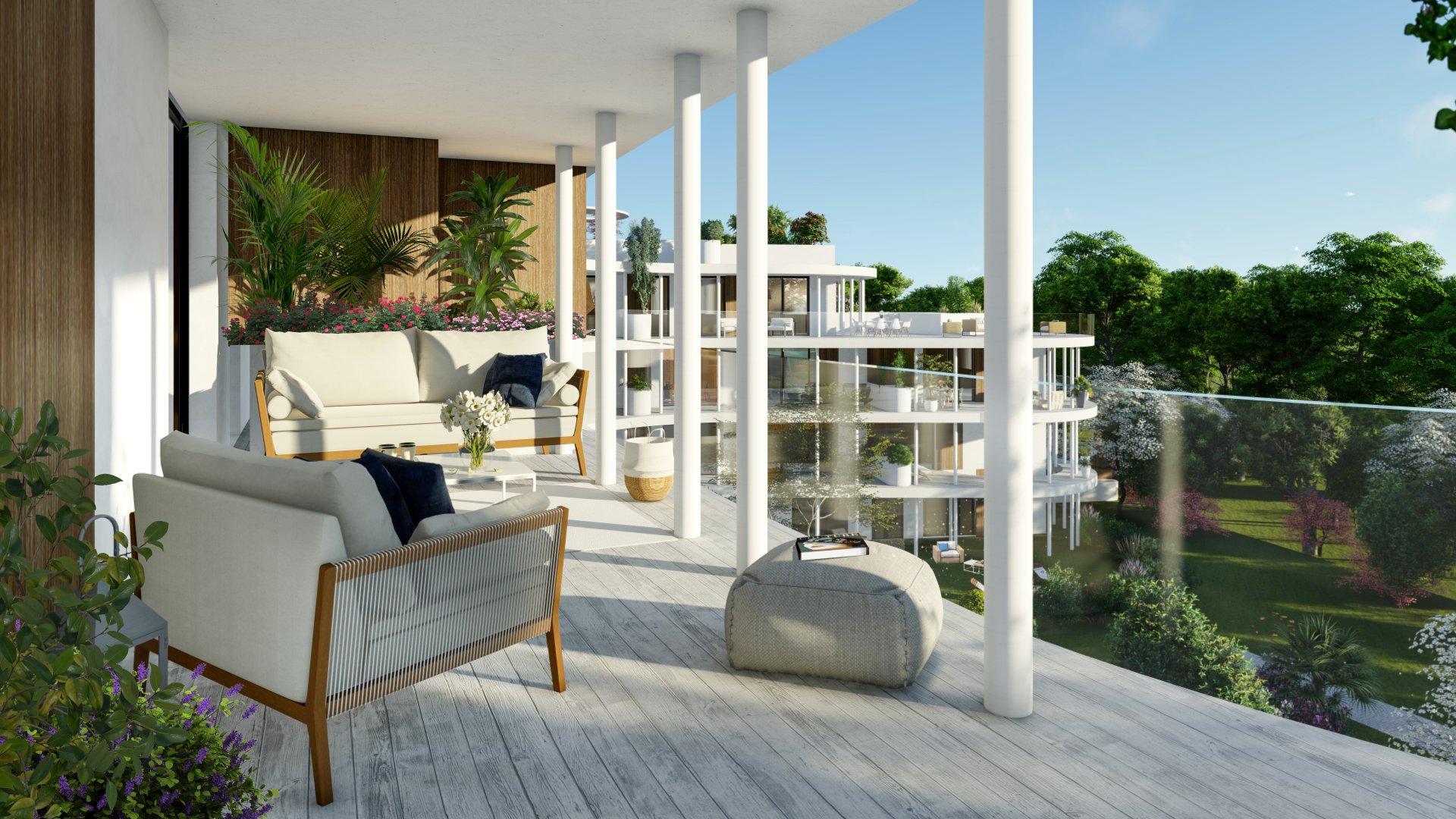 IDÉALISTE - Appartement de type 3 de 76,9m2 - 2 Terrasses