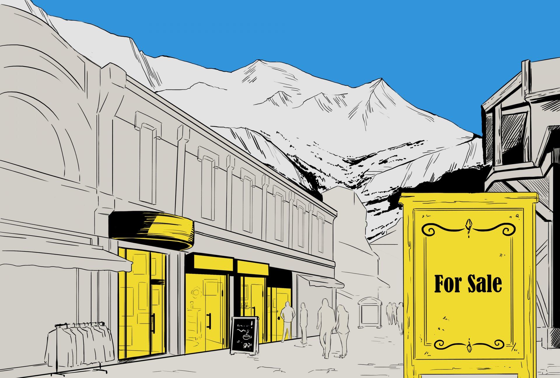 Commercial space, Chamonix Mont-Blanc