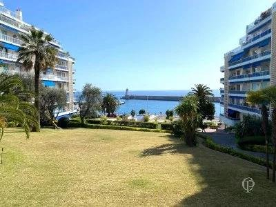 Nice - Franck Pilatte - 2 Rooms with Terrace - Sea View