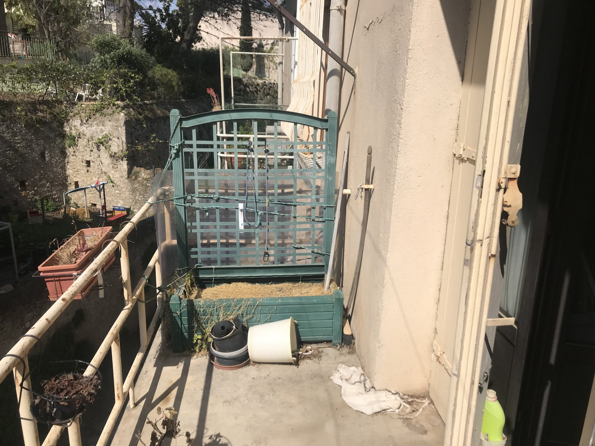 Winegrower property with terrace