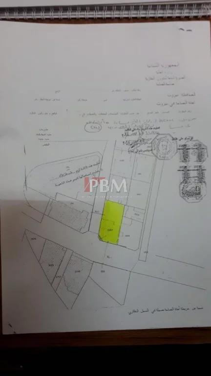 Sale Plot of land Achrafieh Sassine