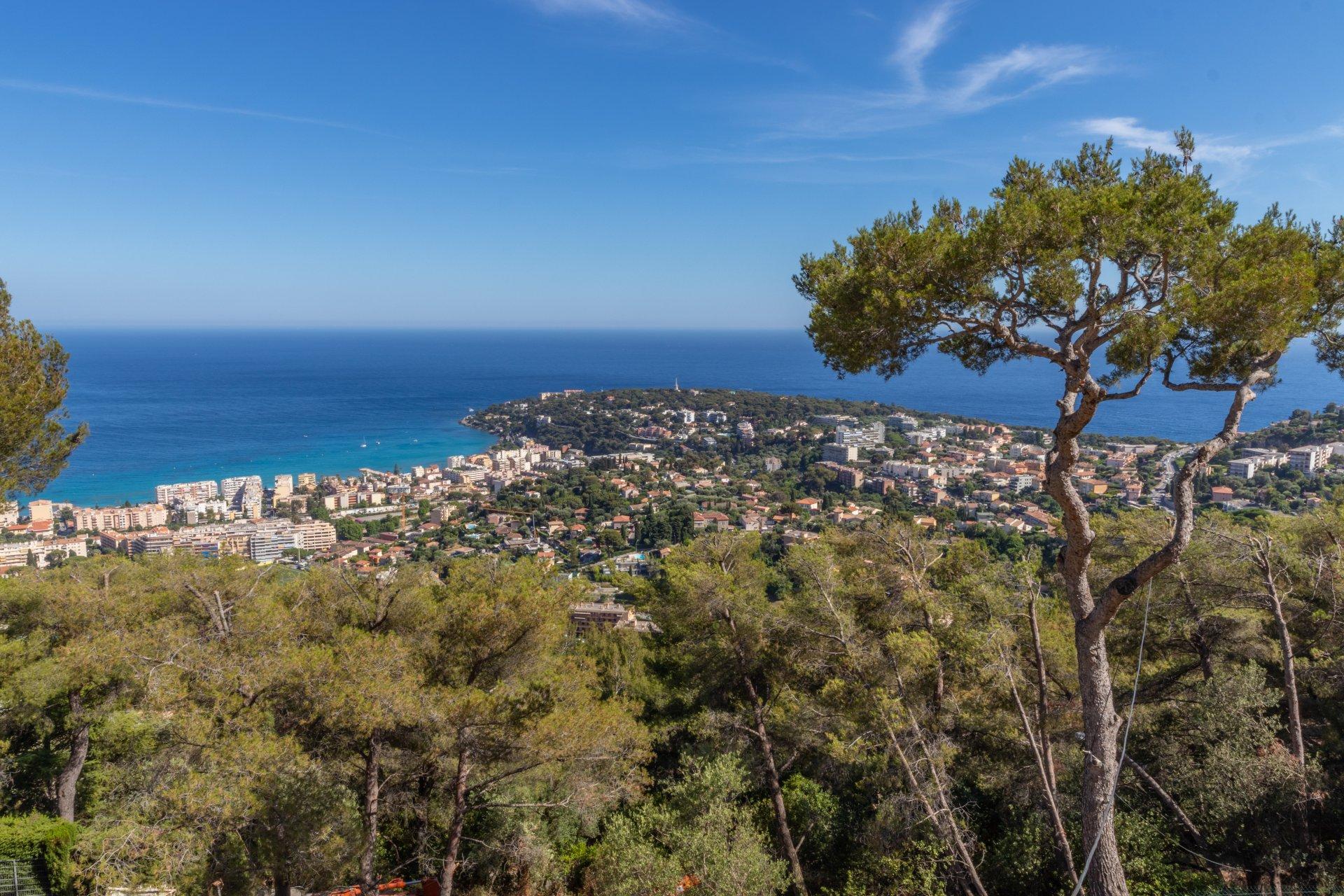 Roquebrune Cap Martin - Villa contemporaine d'architecte neuve de 200m² avec jardin de 2000m² et piscine.