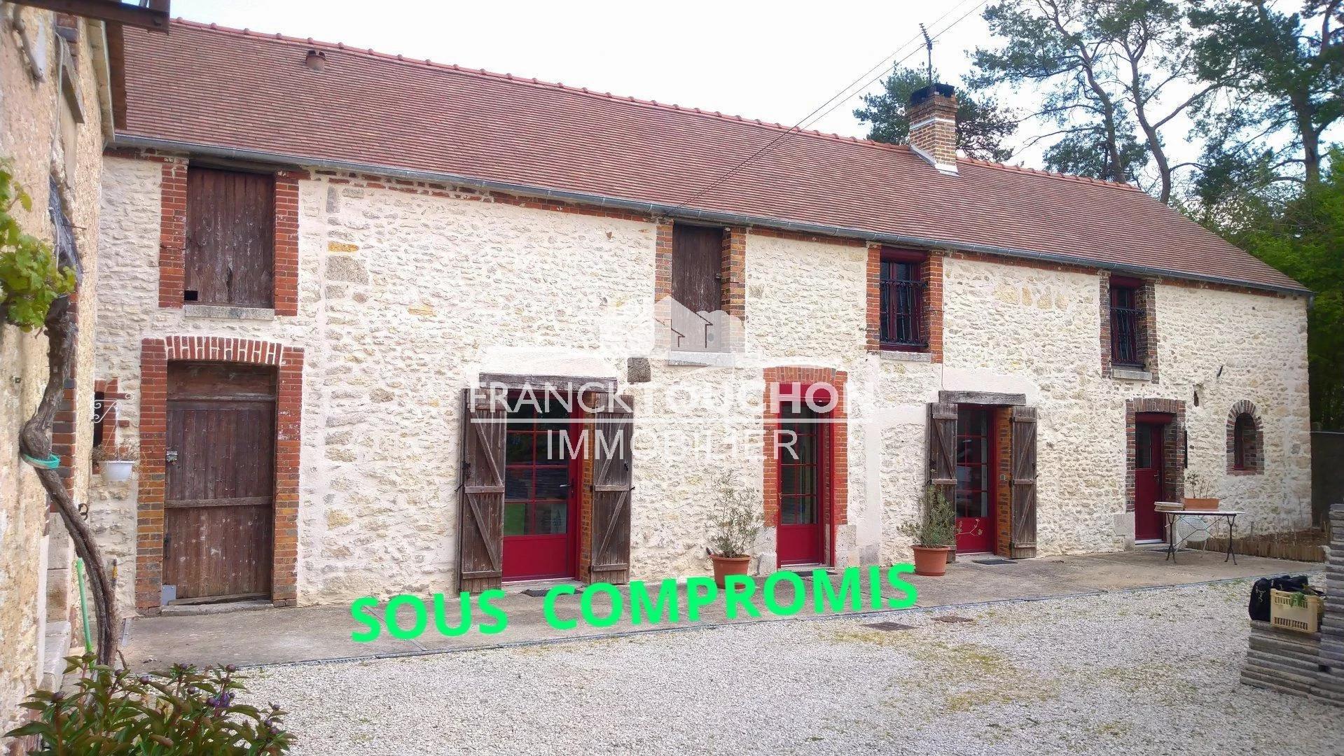 Fermette SH -150 m² - 5 pièces - Terrain 2900 m²