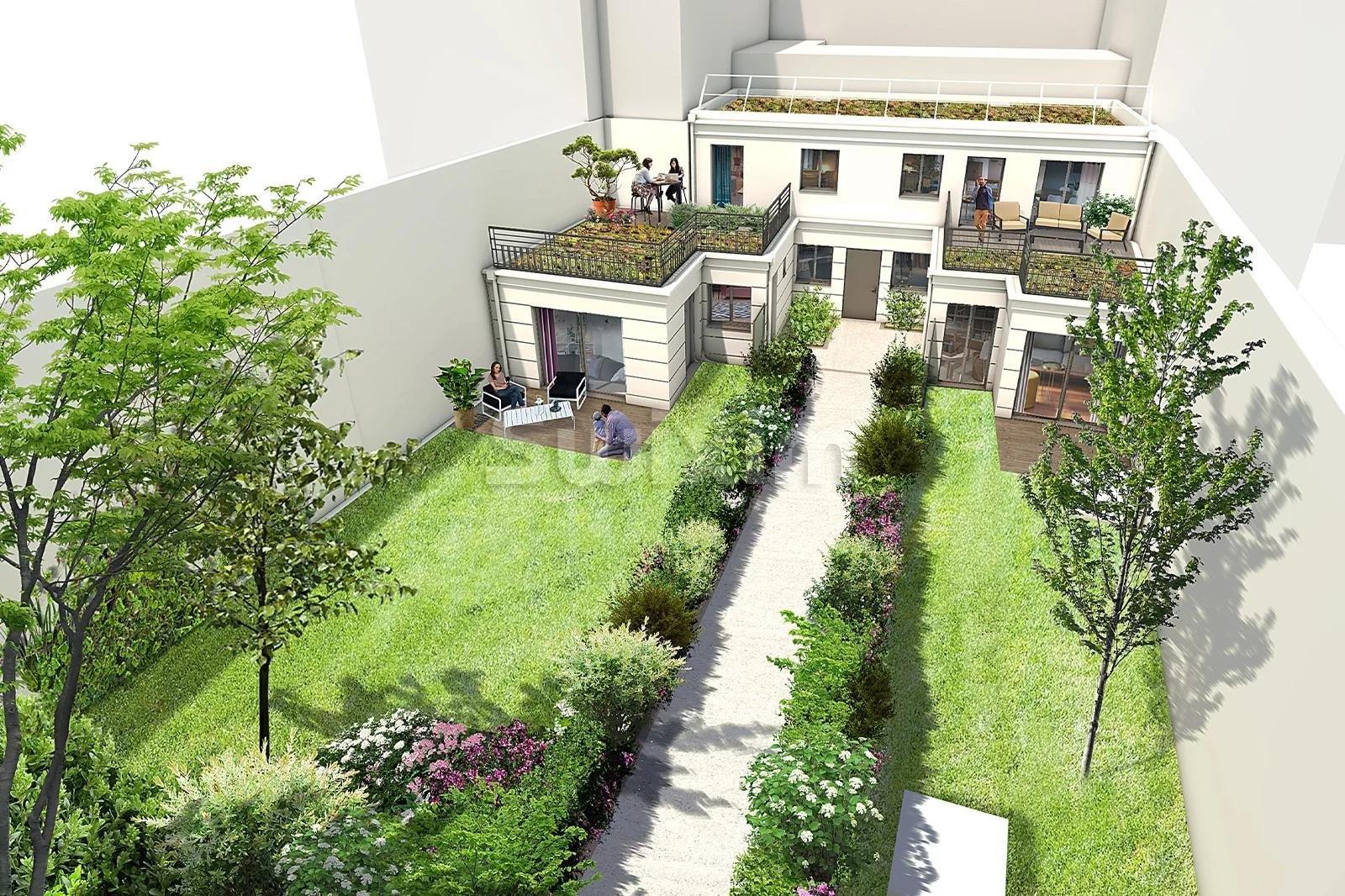 Maison  avec terrasses et jardins proche bois de Vincennes