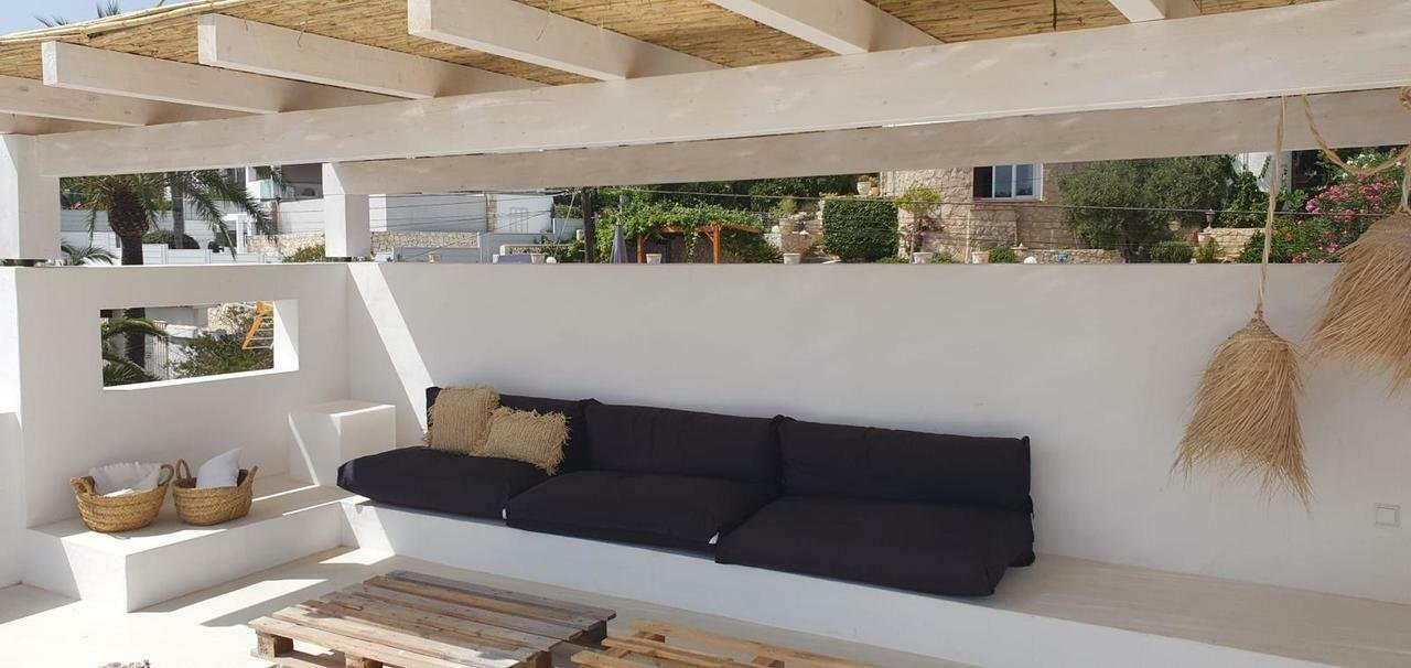 Ibizan style villa with sea views
