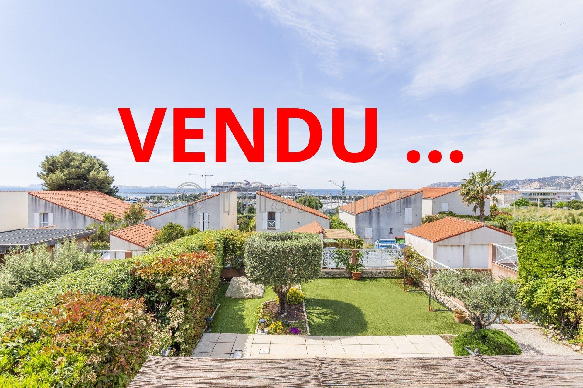 Maison T5 vue mer + double box Marseille 13016 L'Estaque
