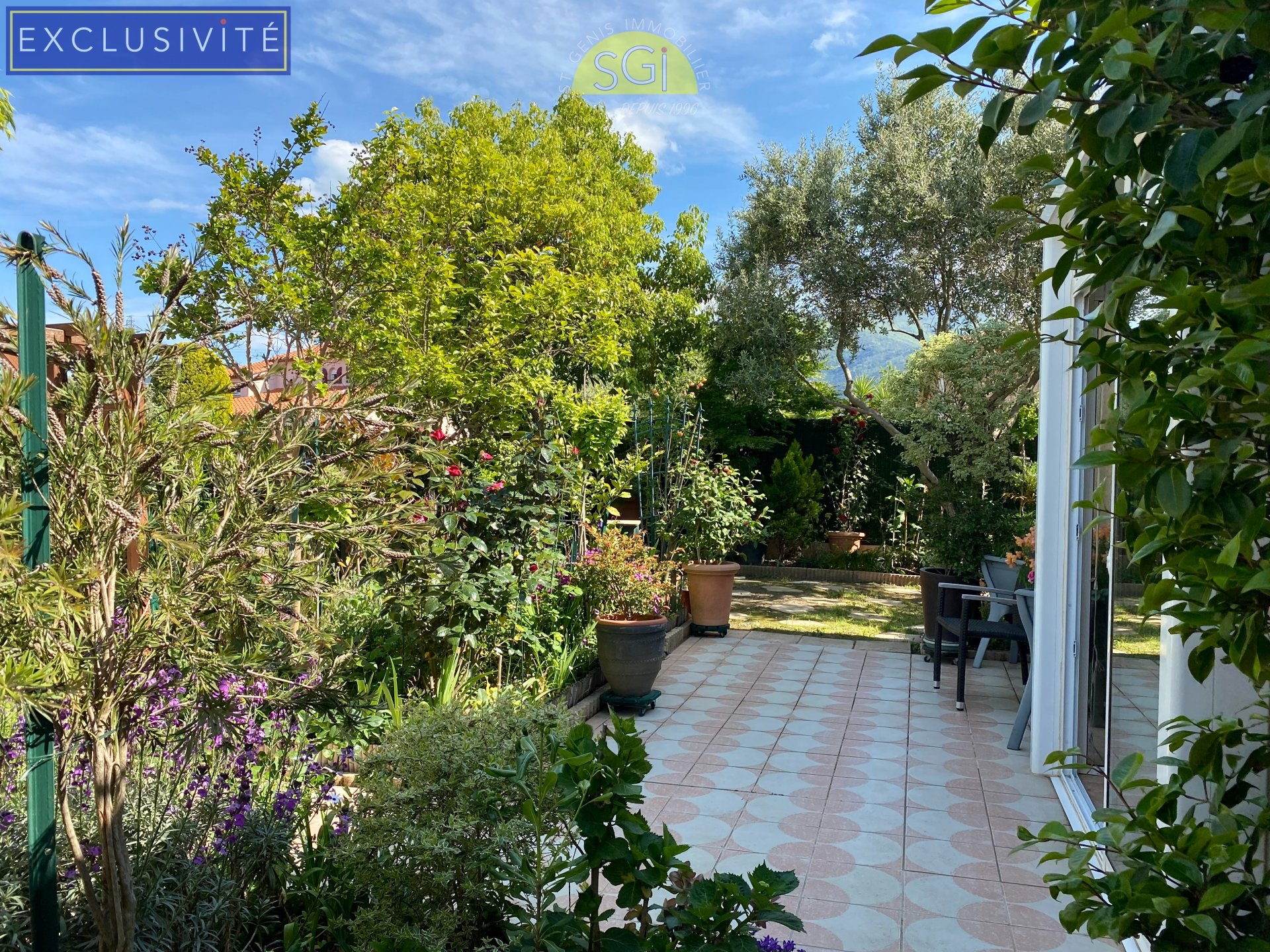Villa 3 faces à Saint-Génis-des-Fontaines