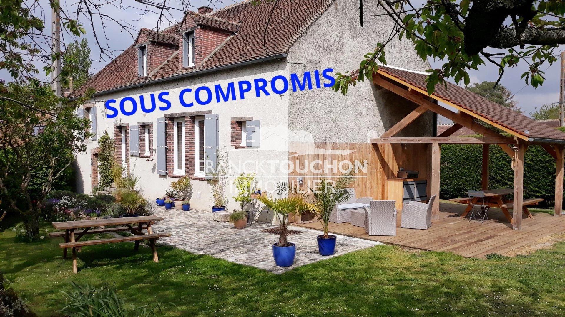 LONGERE - CHEVRY (45210) - 1h15 de PARIS - 4 chambres - 135 m² hab - 4300 m² terrain
