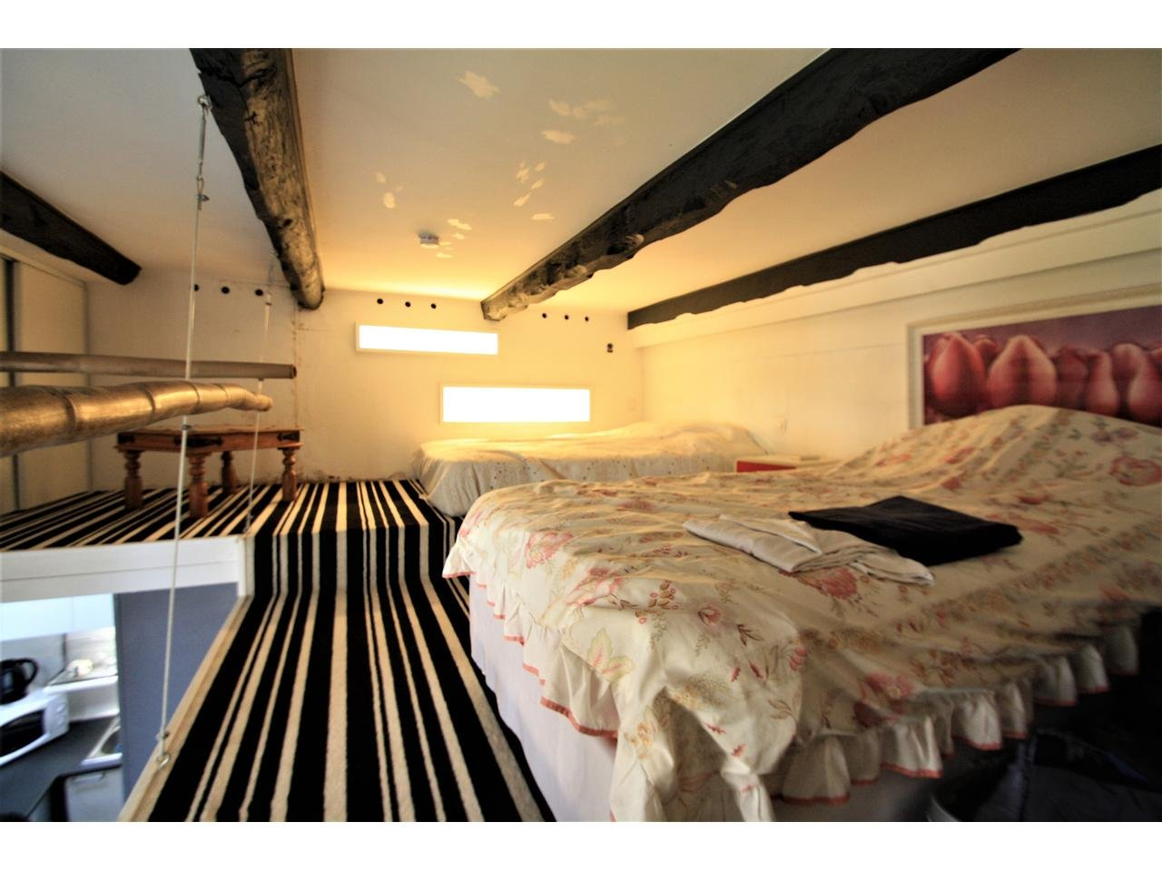 Studio with mezzanine - 5 min from the beach in Cannes