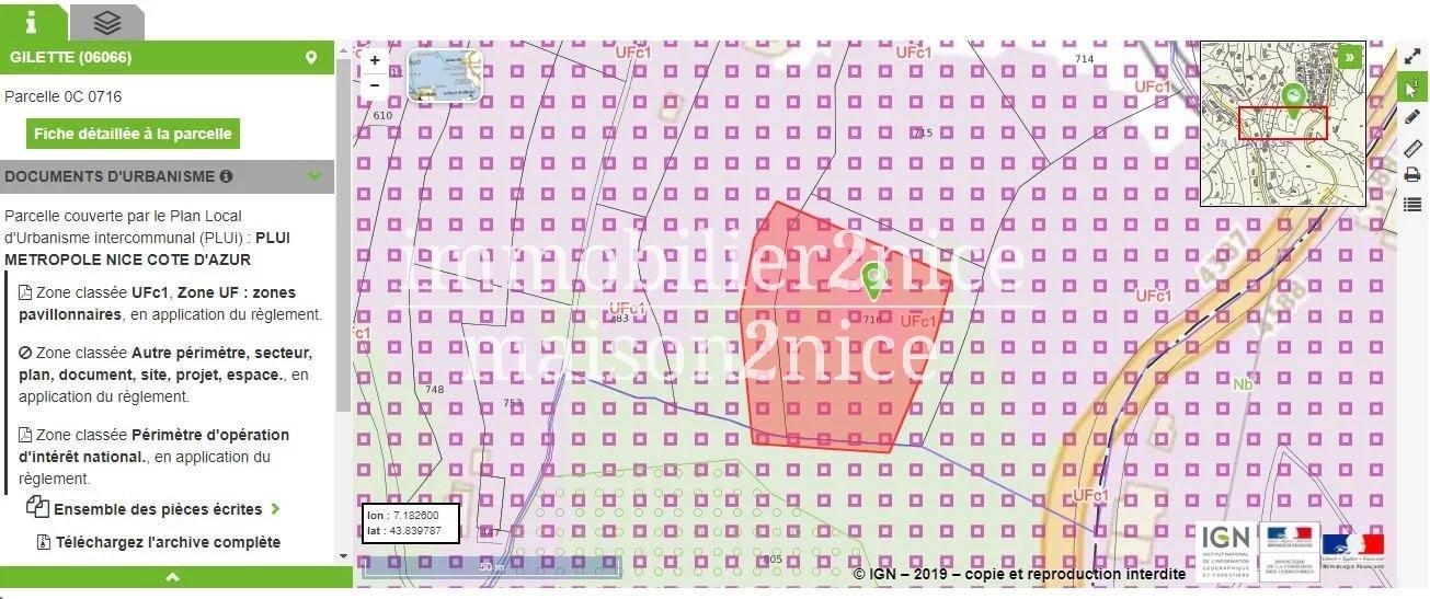 TERRAIN CONSTRUCTIBLE GILETTE 1500M²