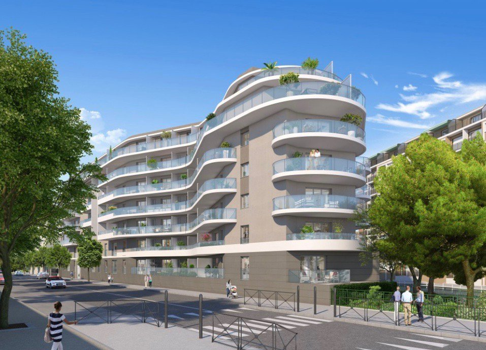 NICE - Prôvence-Alpes-Côte d'azur - vente appartement neuf - Investissement loi Pinel