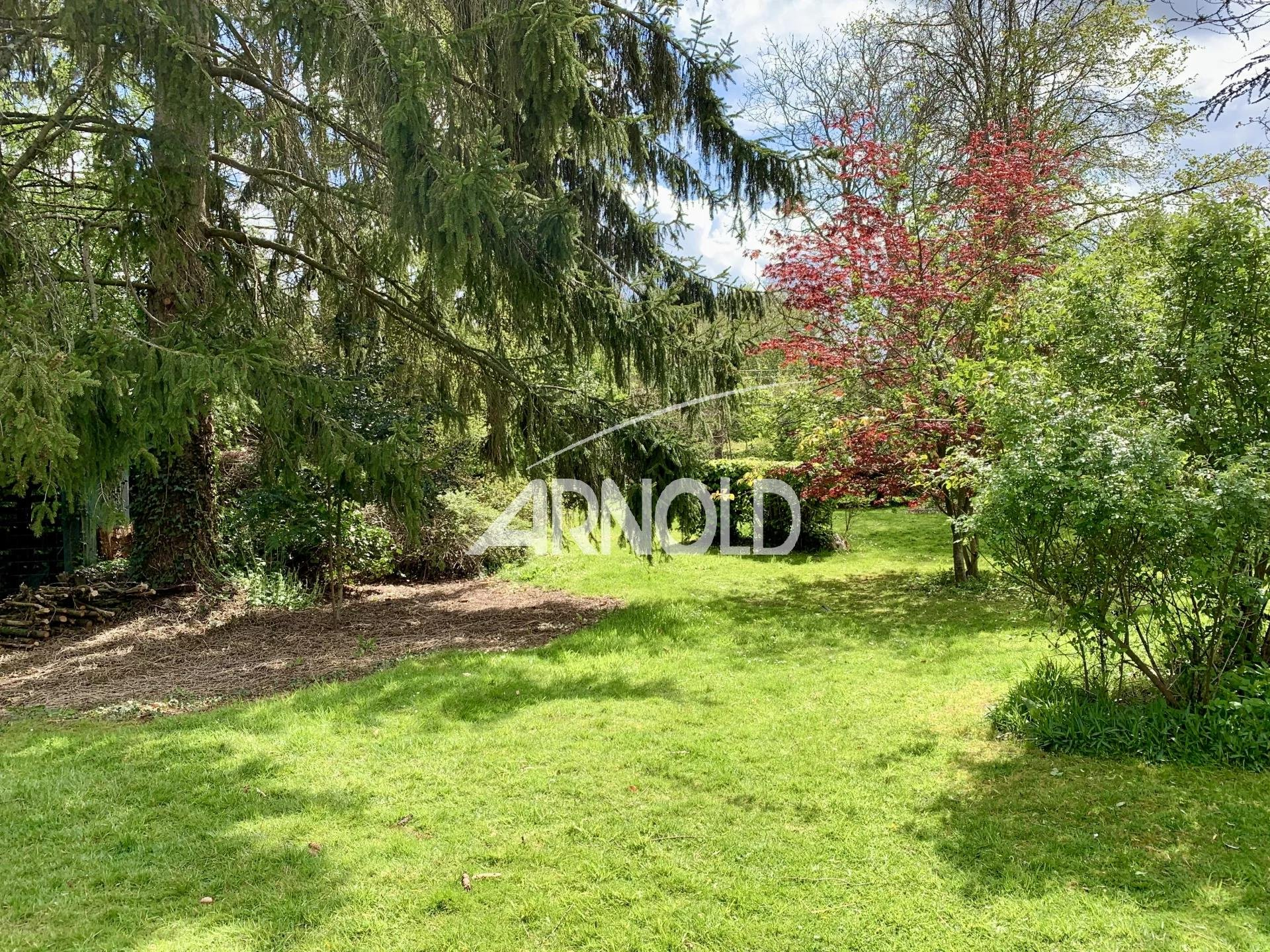 EURE - MAGNIFIQUE LONGERE avec jardin à l'anglaise