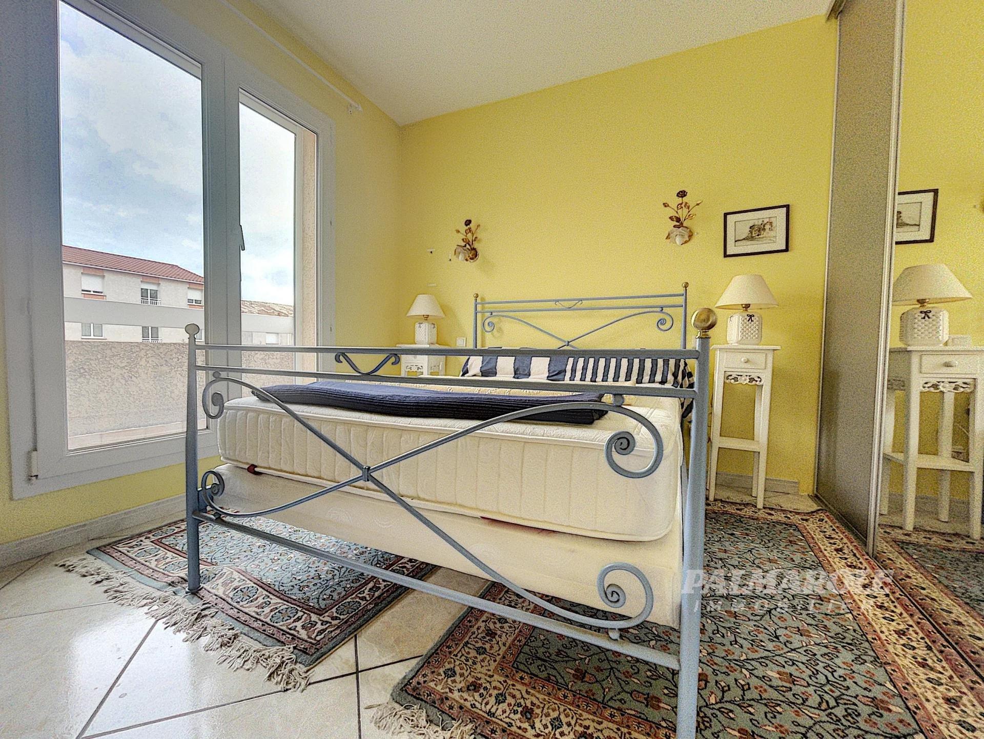 Perpignan sud villa 4 faces avec piscine OCCUPEE VENTE NUE PROPRIETE