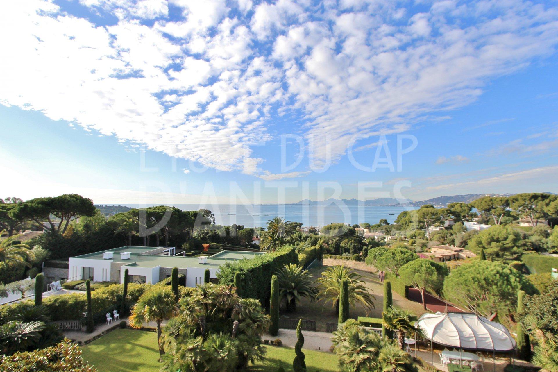 Кап д Антиб - Потрясающий вид на море - Апартаменты на аренду