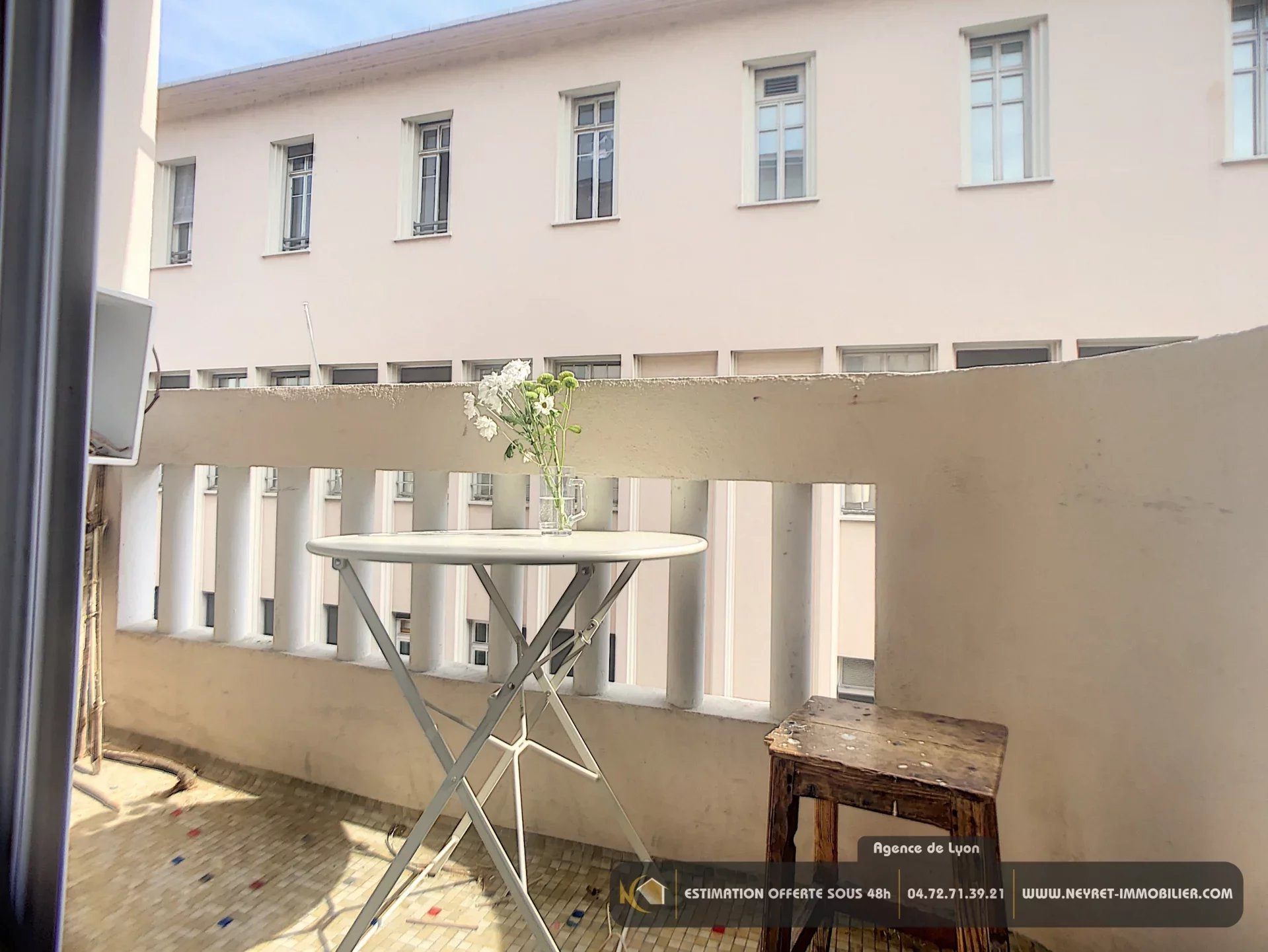 VENDOME SAXE 69003  Grand T3 balcon