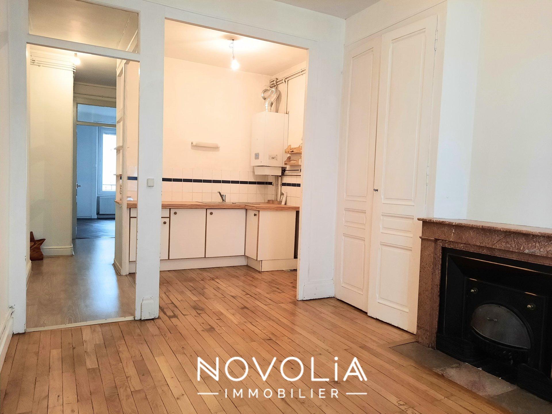 Achat Appartement, Surface de 42.77 m²/ Total carrez : 42 m², 2 pièces, Villeurbanne (69100)