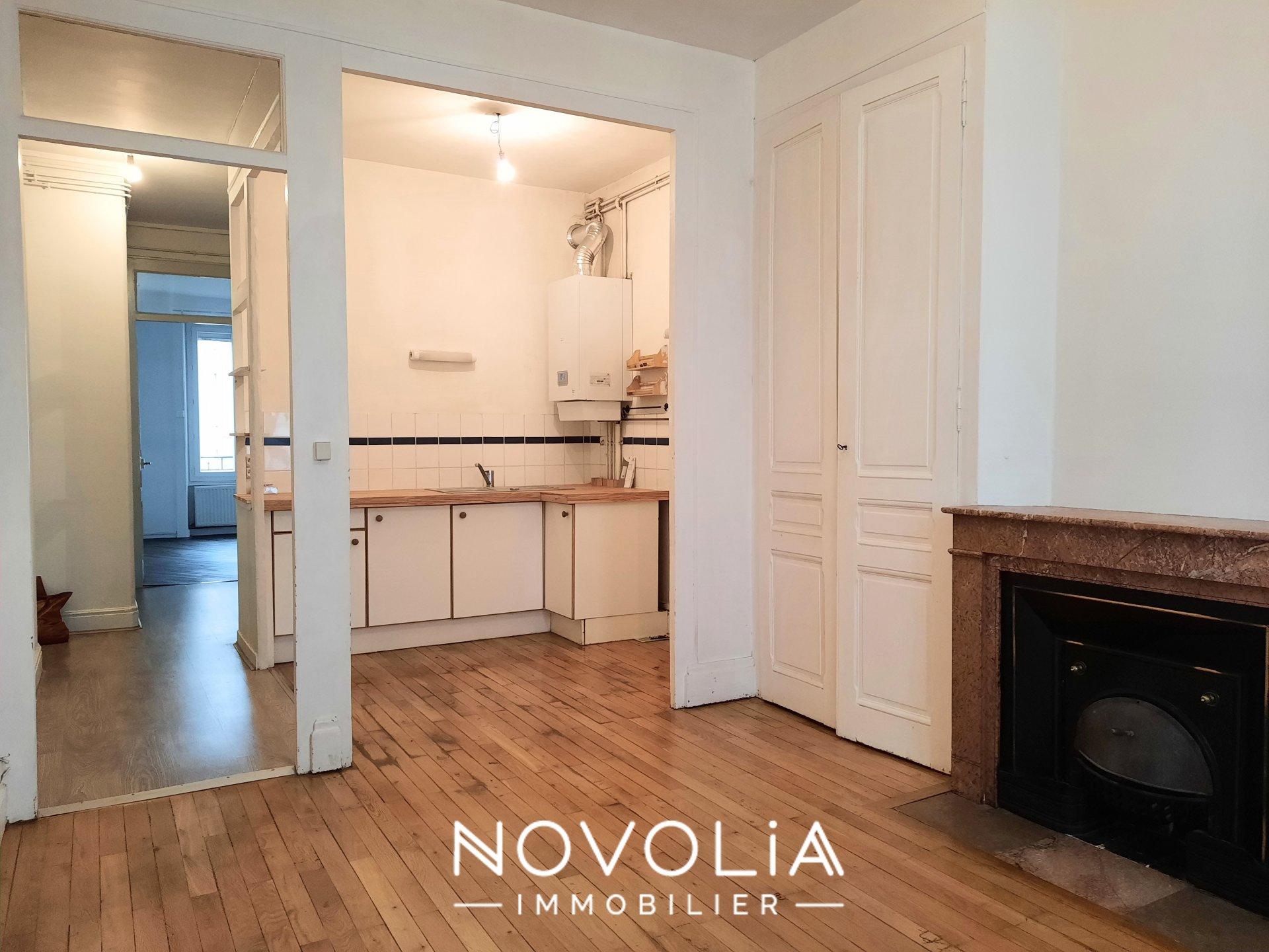 Achat Appartement Surface de 42.77 m²/ Total carrez : 42 m², 2 pièces, Villeurbanne (69100)
