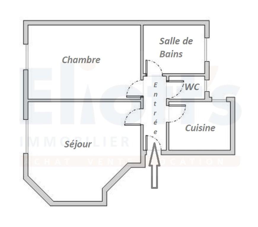ENTRE LA BUTTE AUX CAILLES ET LE PARC MONTSOURIS - 2 PIECES
