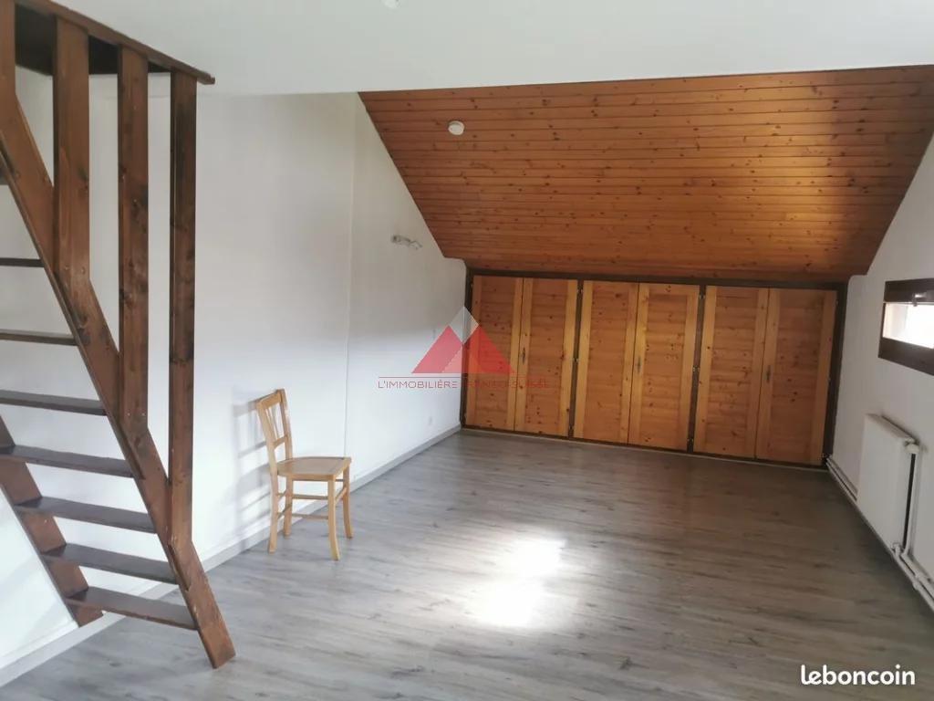 Studio + Mezzanine avec Garage