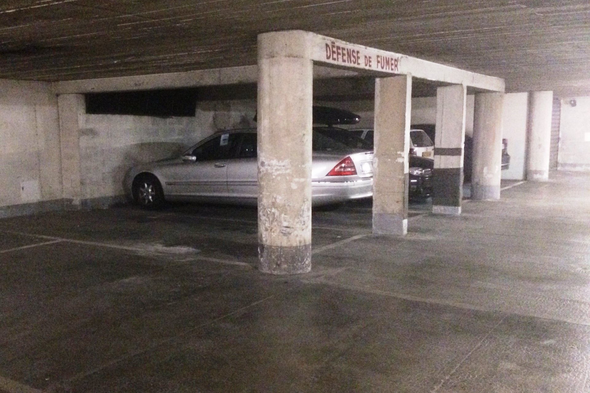 Nice François Grosso, parking résidence Bel Air Mansions