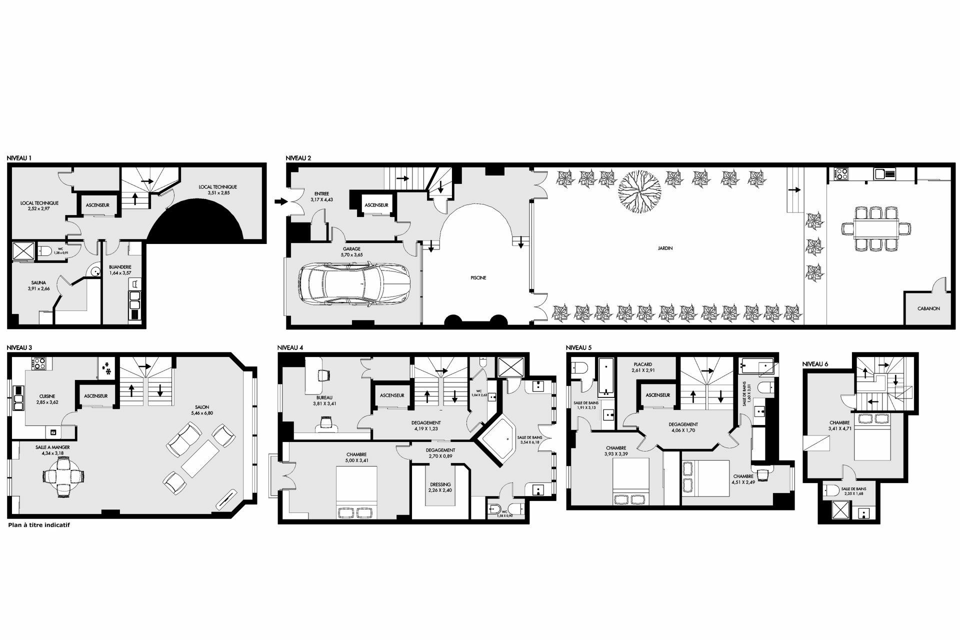 Maison de ville 227 m² 75016
