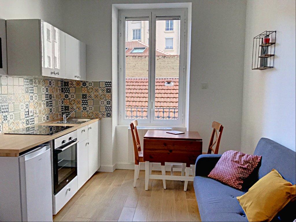 Location Appartement Surface de 17.42 m², 1 pièce, Lyon 3ème (69003)