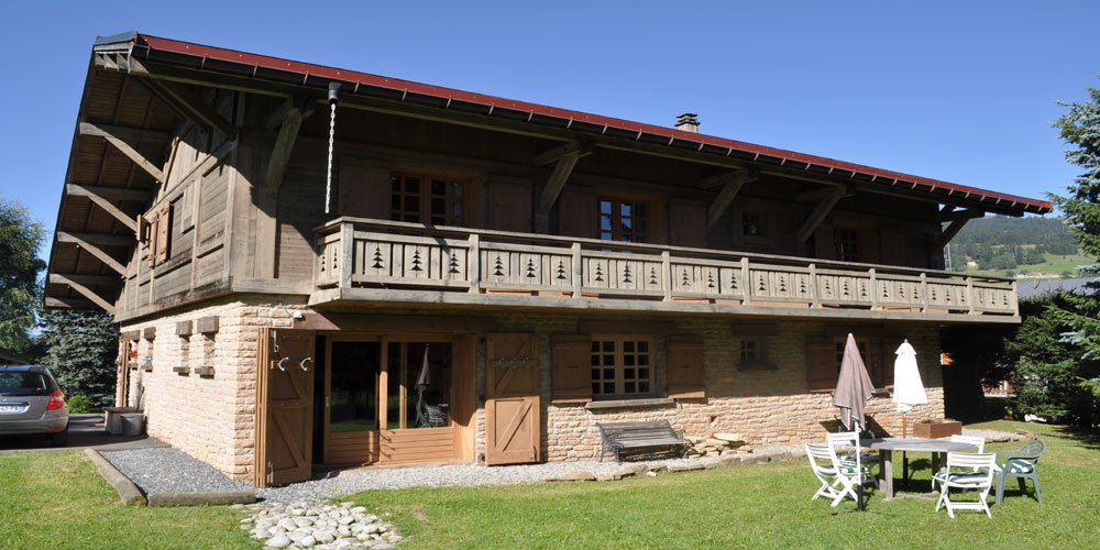 Beautiful chalet with garden - MEGEVE