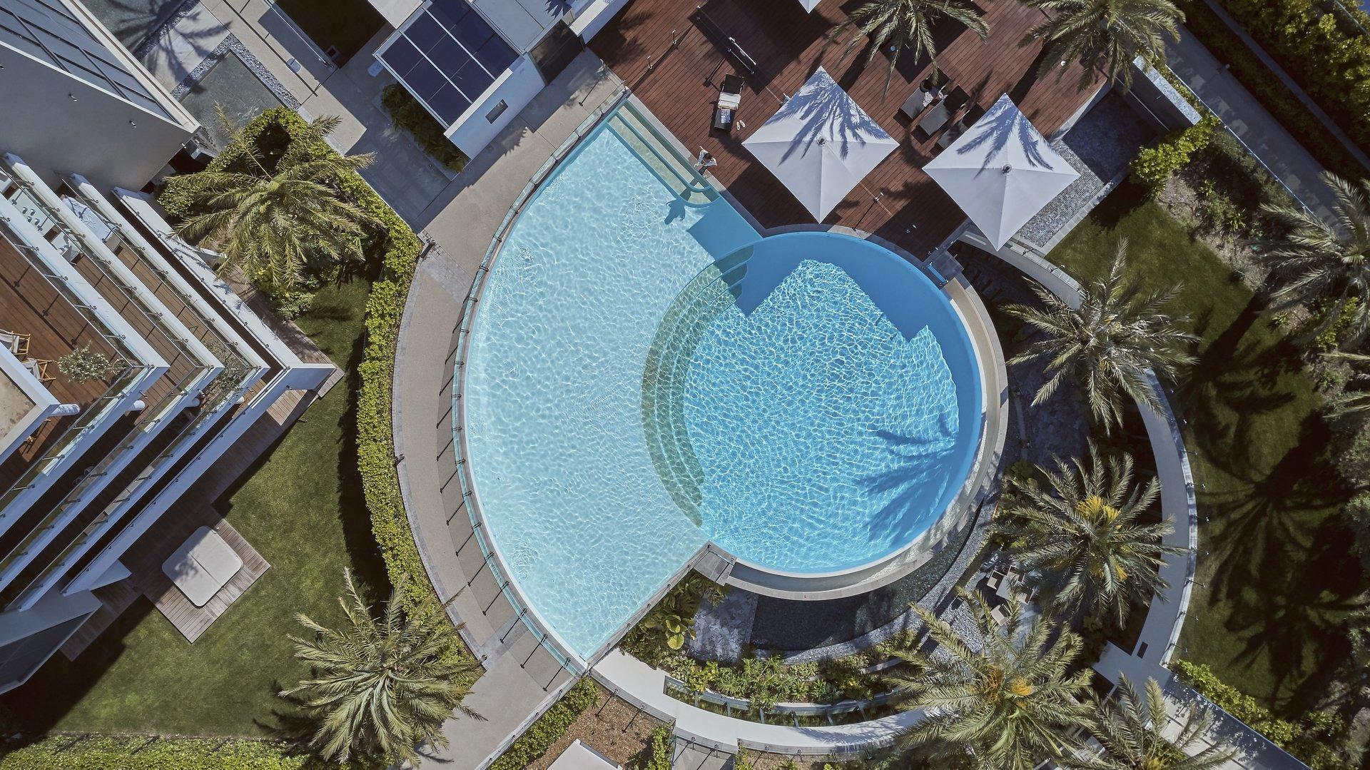 Cap d'Antibes -  Lekker ny 3-roms 83m2 haveleilighet  i eksepsjonell residens