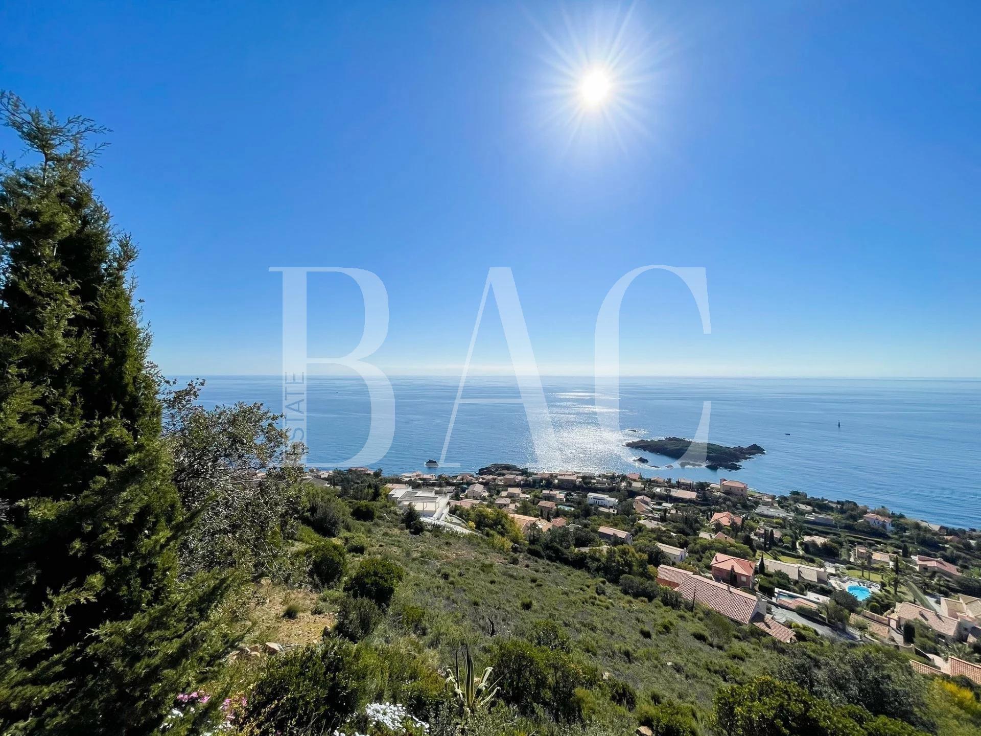 Антеор, исключительный участок с панорамным видом на море