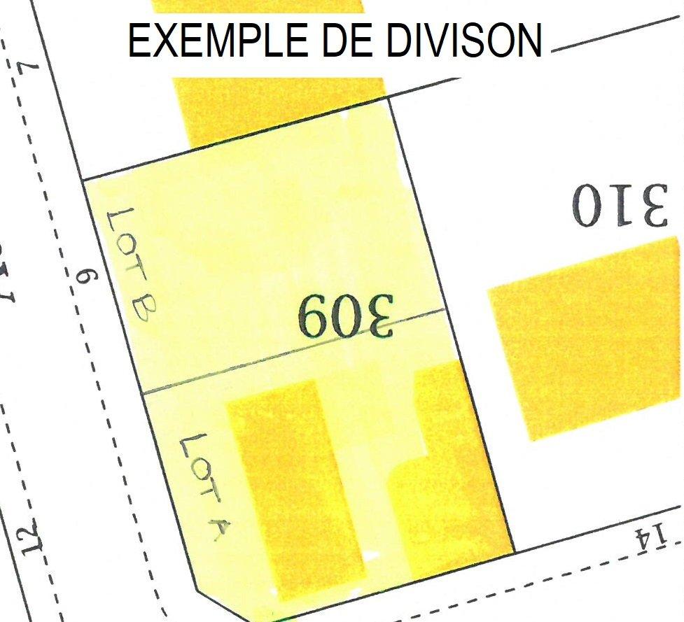 MAISON SUR 359 M² DE TERRAIN IDEAL POUR DIVISION EN 2 LOTS