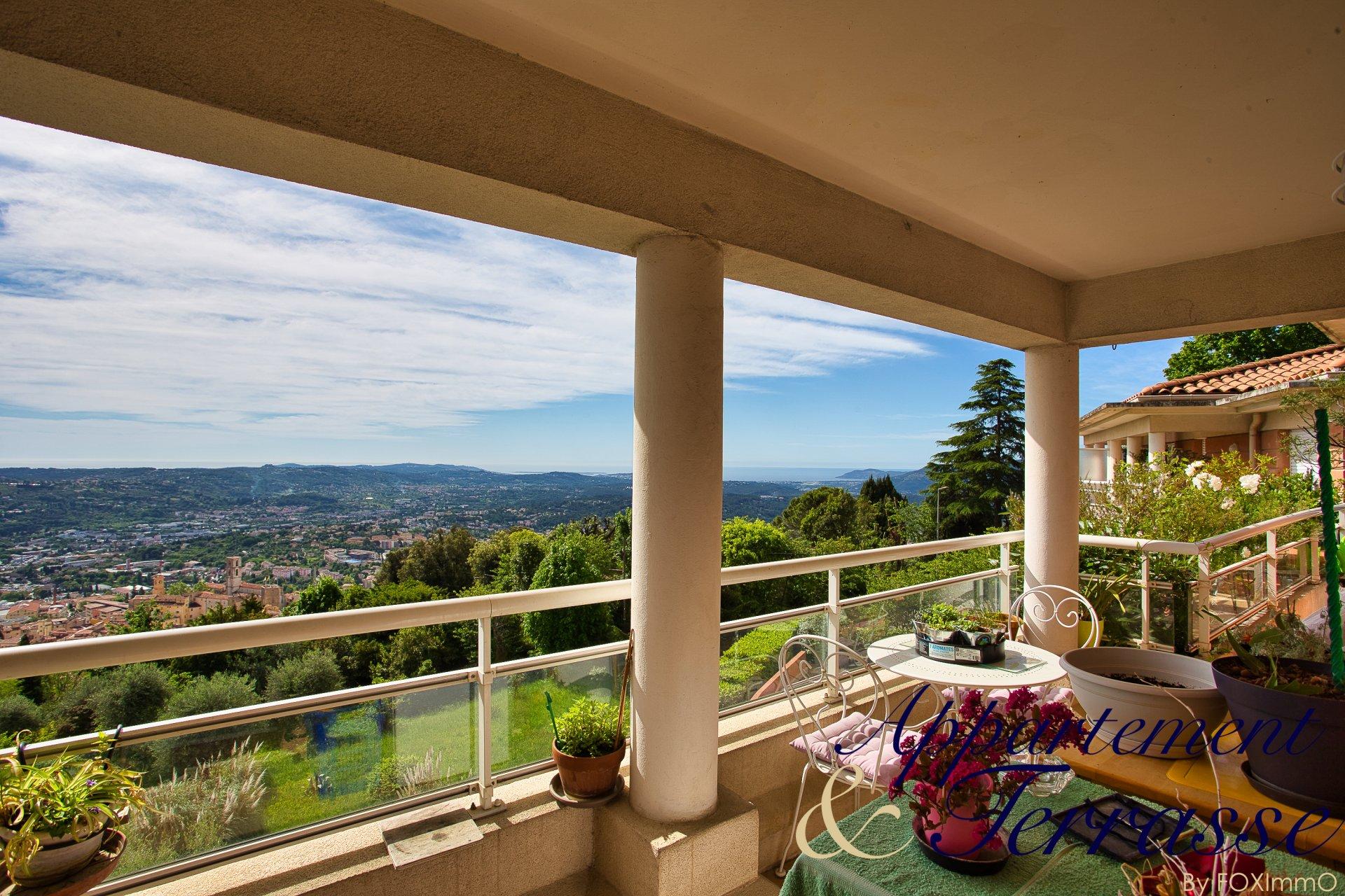 Beautiful flat 2/3 P top floor panoramic sea view