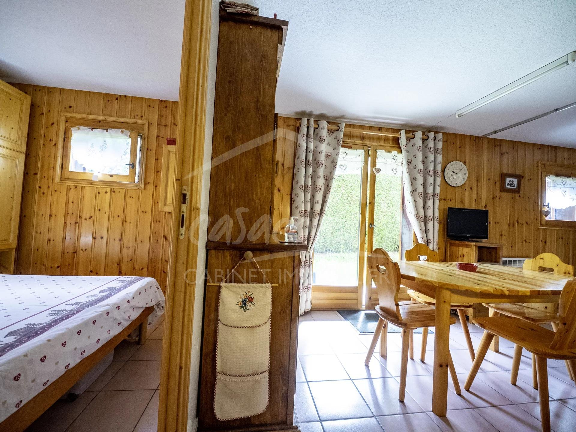 St Gervais Mt Blanc- lovely apartment with garden