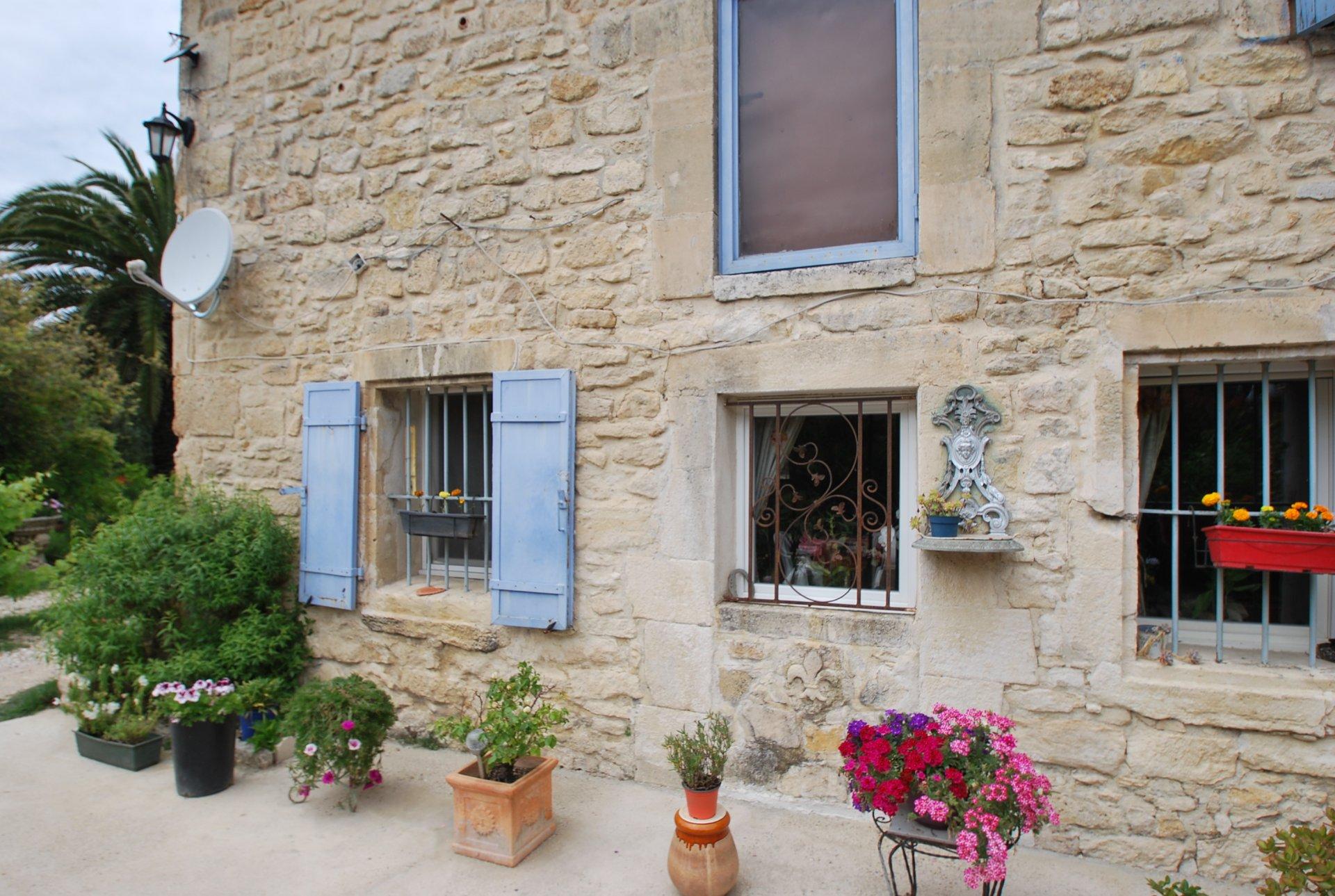 Mas provençal proche de Fontvieille