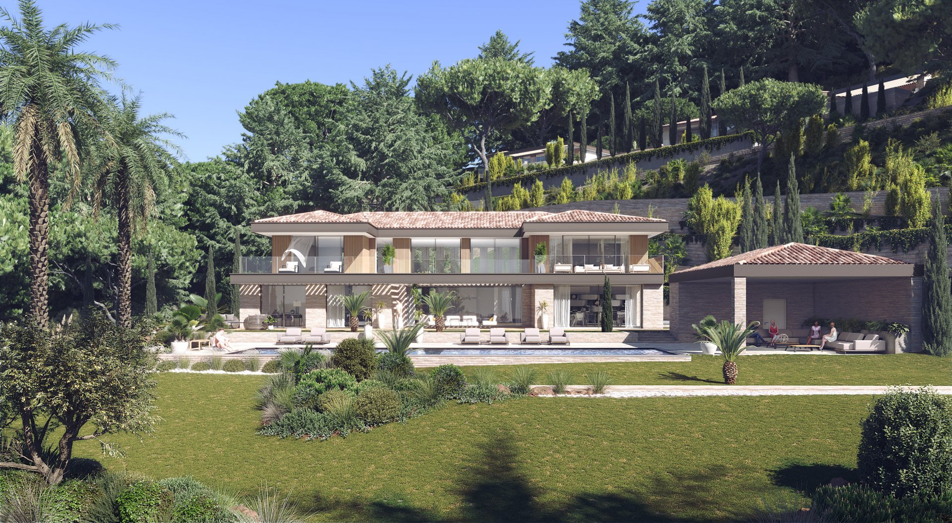 A Brand New Modern Villa Within A Gated Community