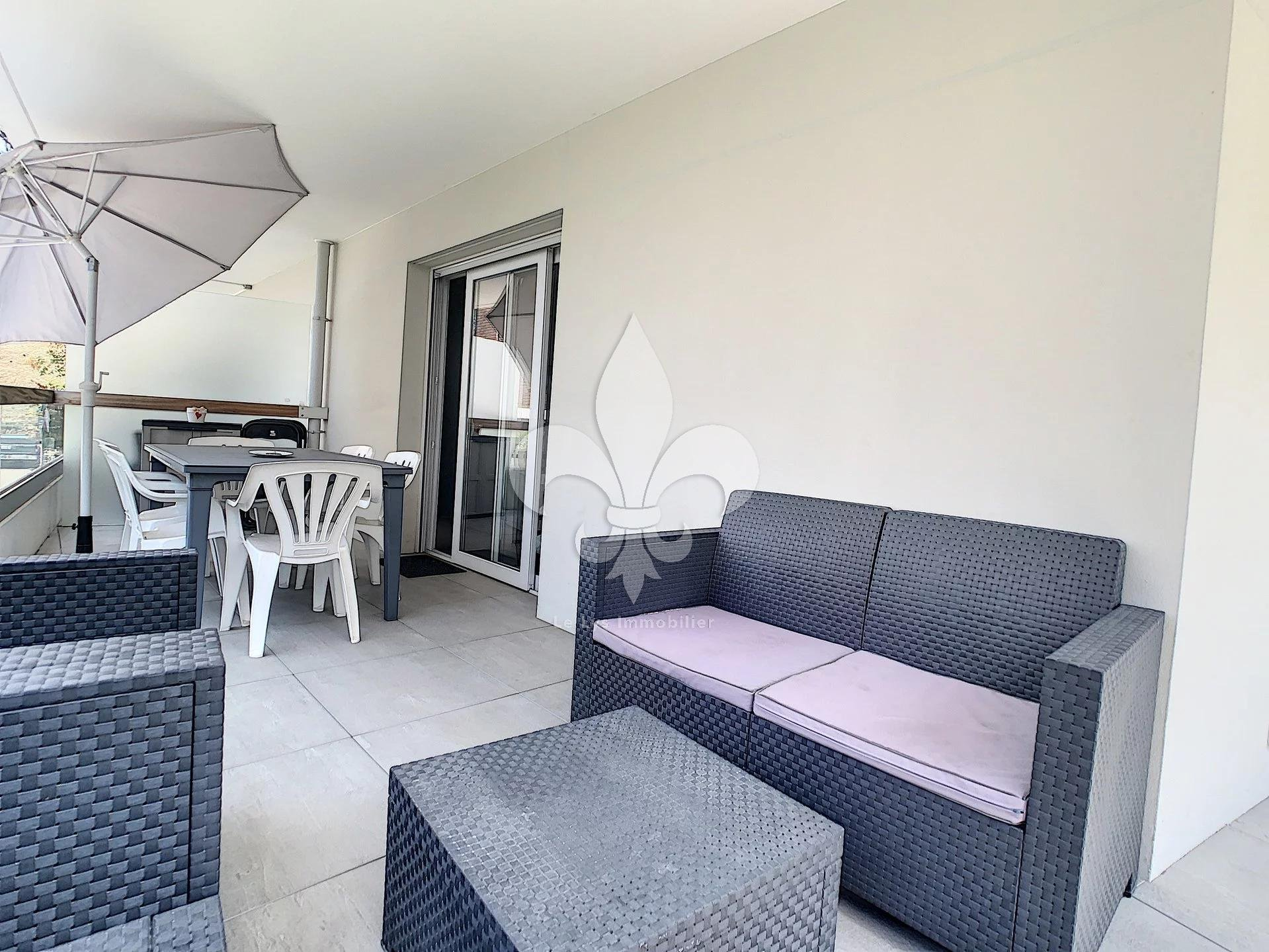 Cannes - 3 rooms with corner terrace