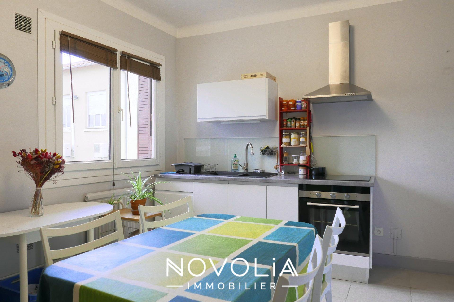 Achat Appartement Surface de 61.88 m²/ Total carrez : 61.72 m², 3 pièces, Villeurbanne (69100)