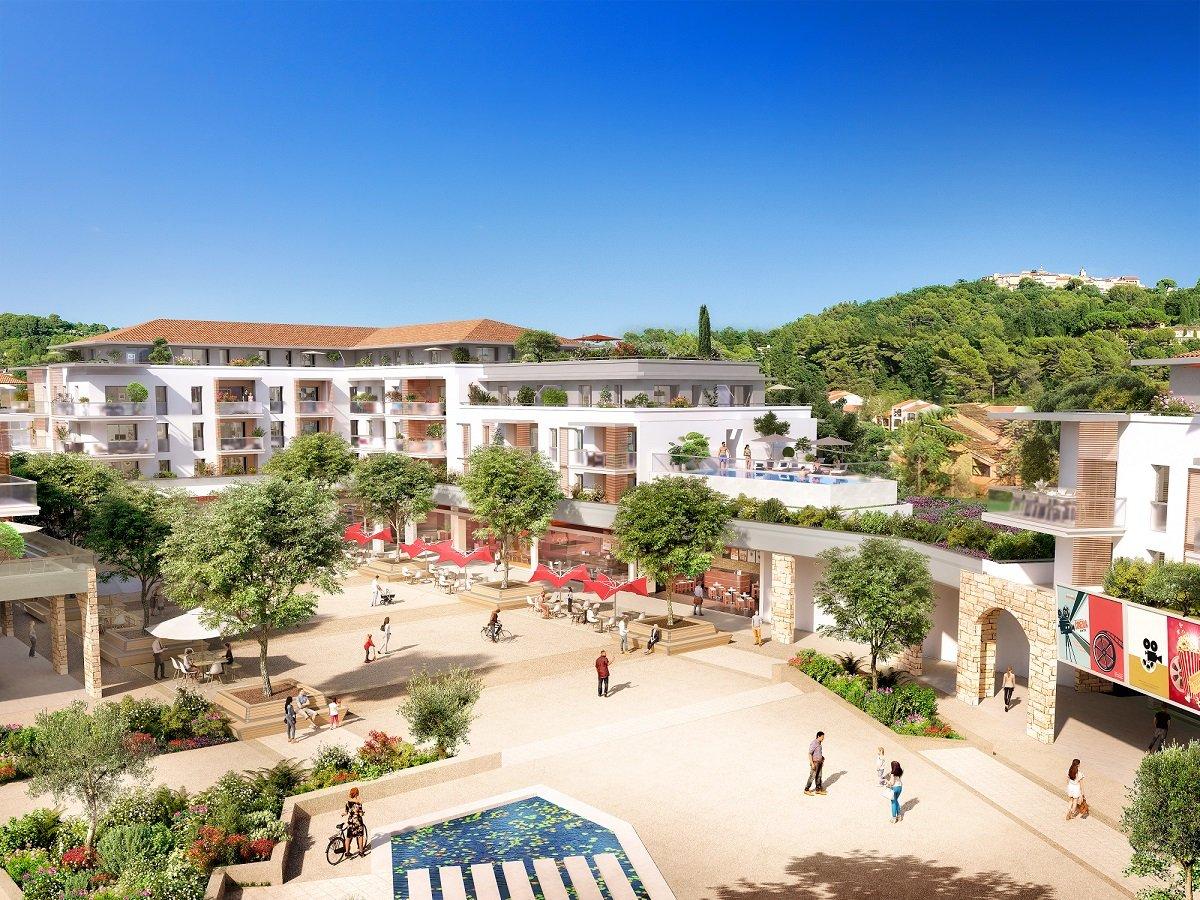 Vente de appartement à Mougins au prix de 436000€
