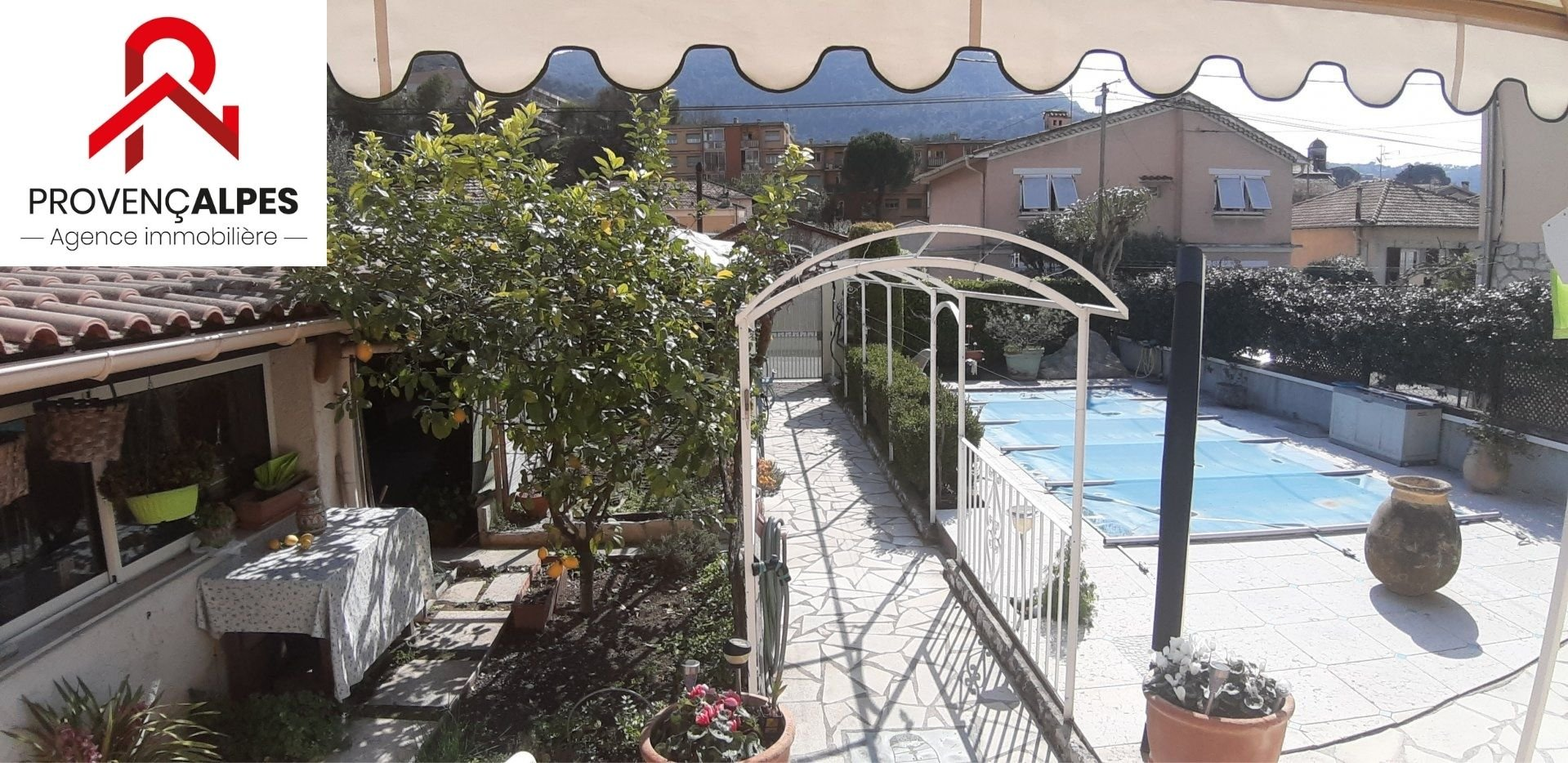 Viager : Appartement avec jardin