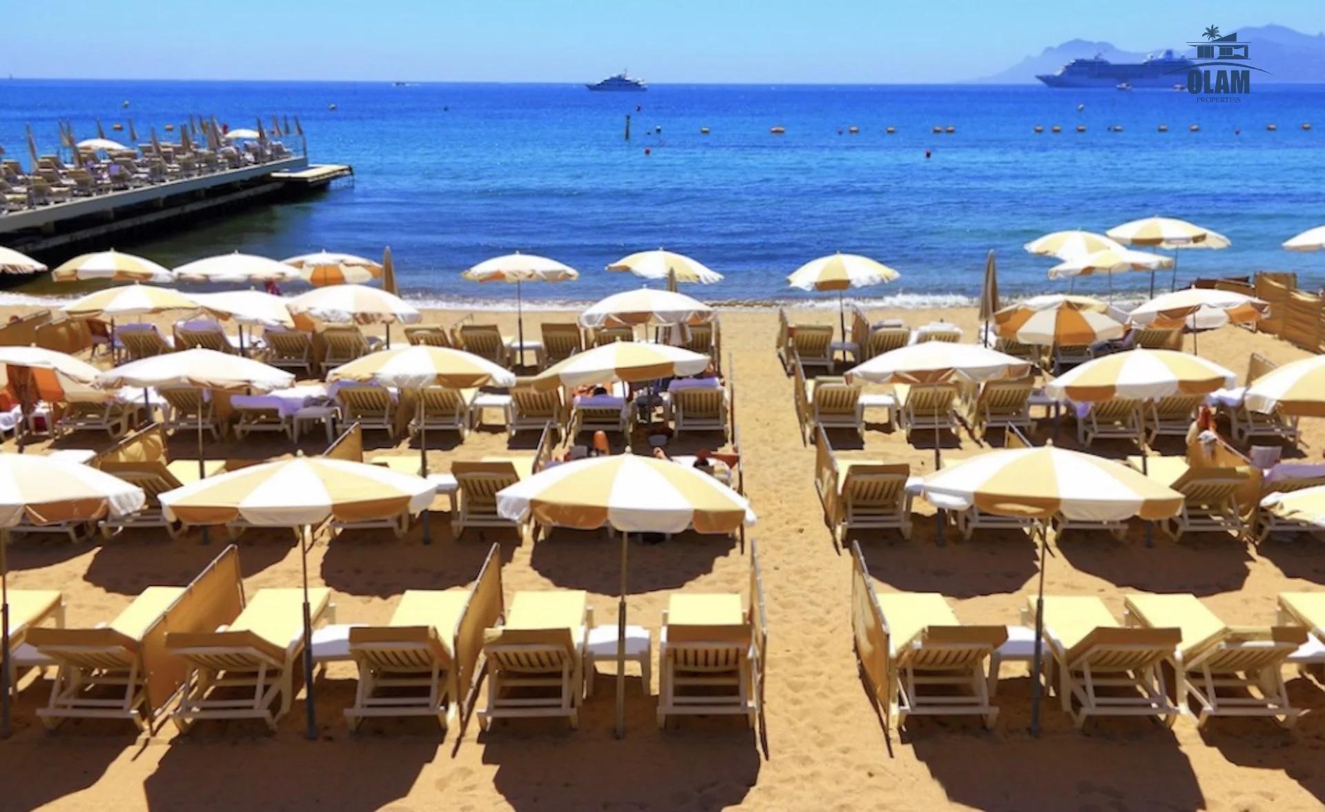 Сезонная аренда Квартира - Канны (Cannes) Croisette