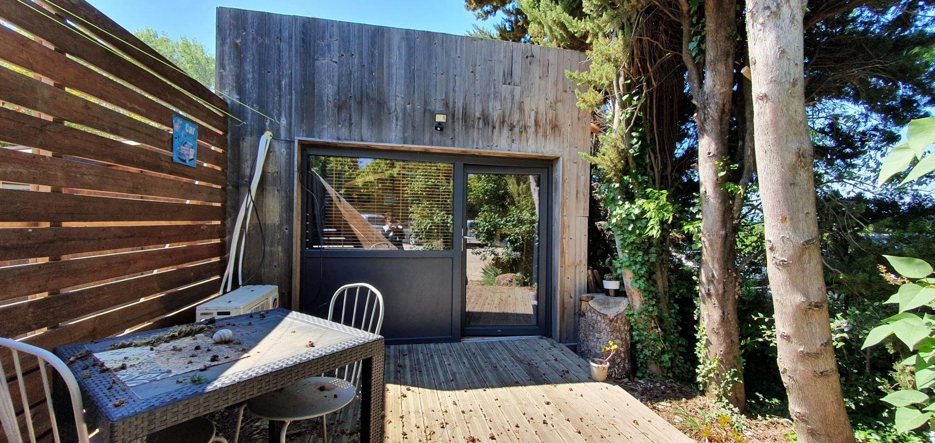 maison + 3 gites dans la nature