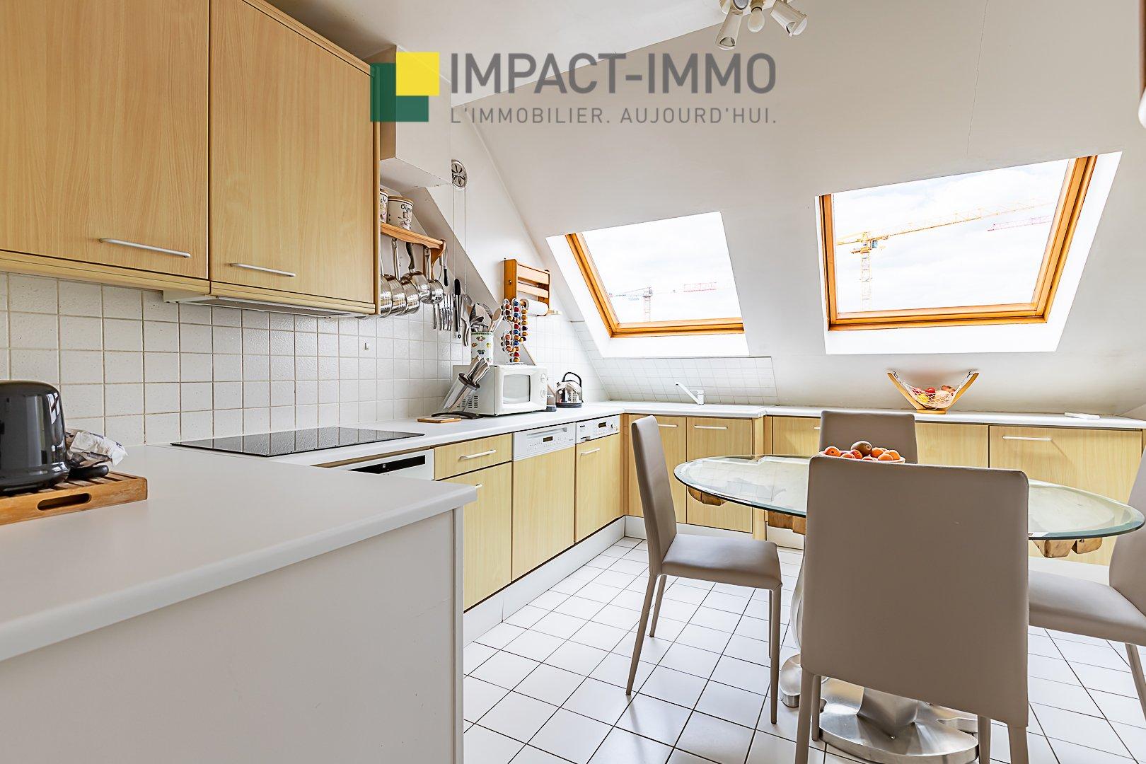 Bécon - 4 chambres - 140m² en DUPLEX