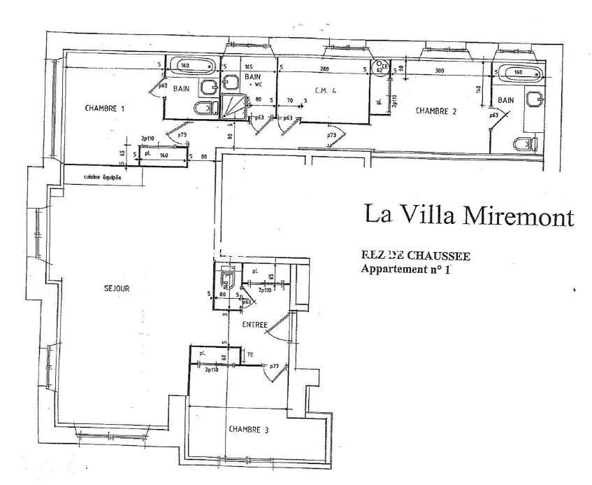 APPARTEMENT VILLA MIREMONT - 3 CHAMBRES - CHAMONIX