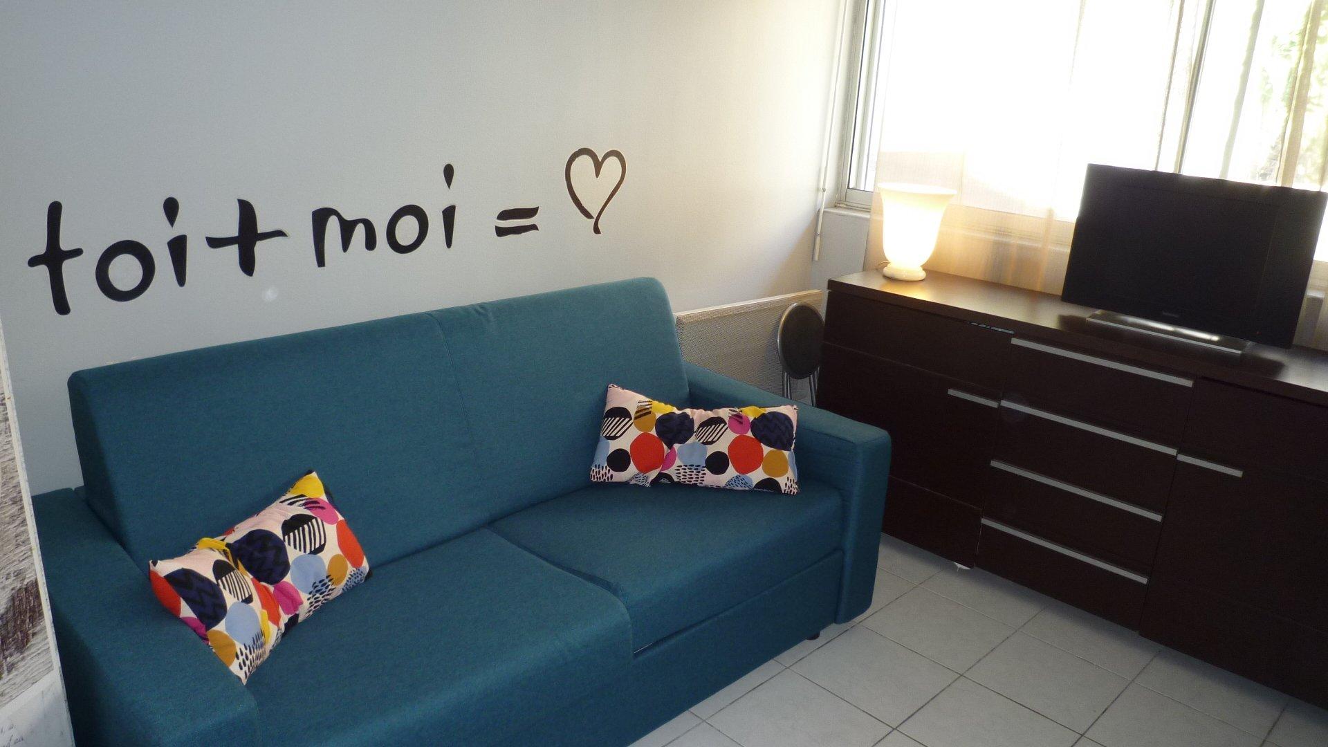 studio meublé orangers / étudiants ou a l année