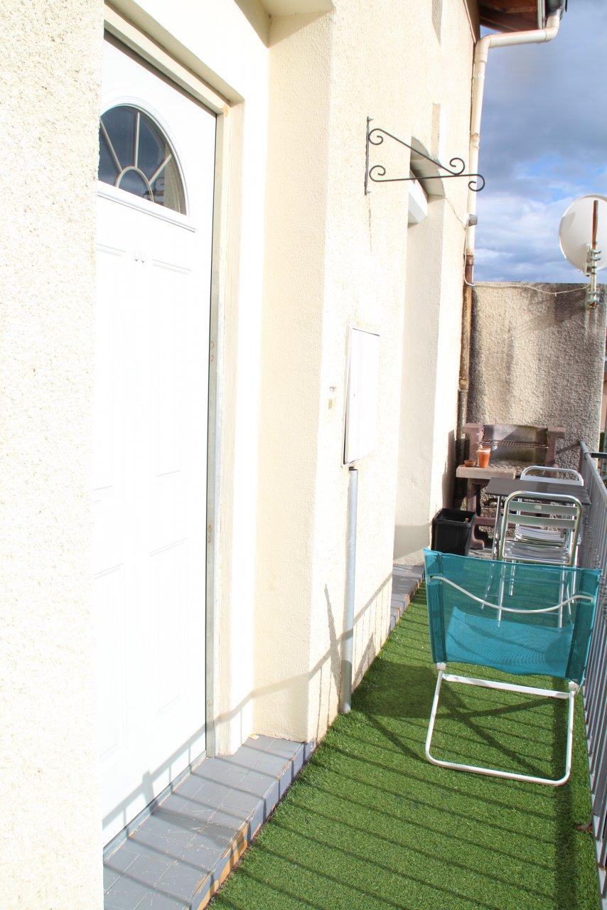 Appartement T3 90m² avec balcon