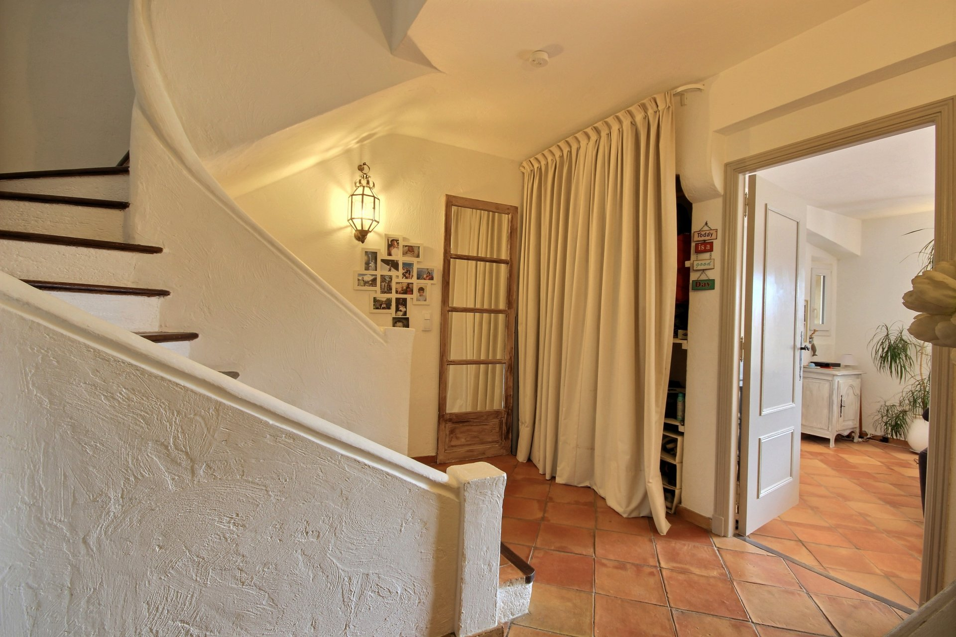Family town house walking distance from village