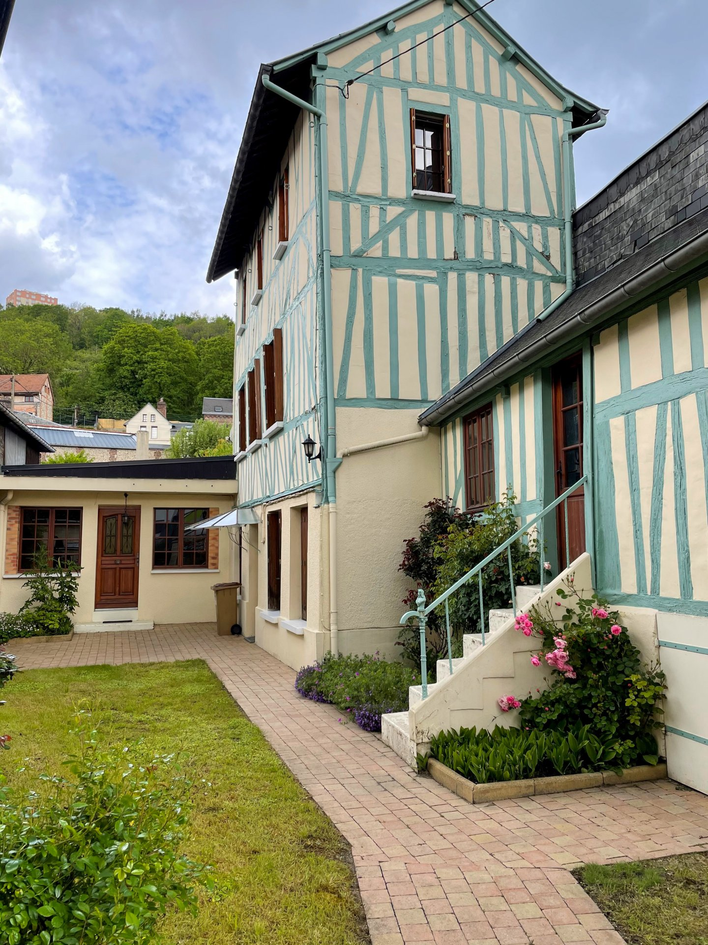 Maison centre Darnétal avec jardin