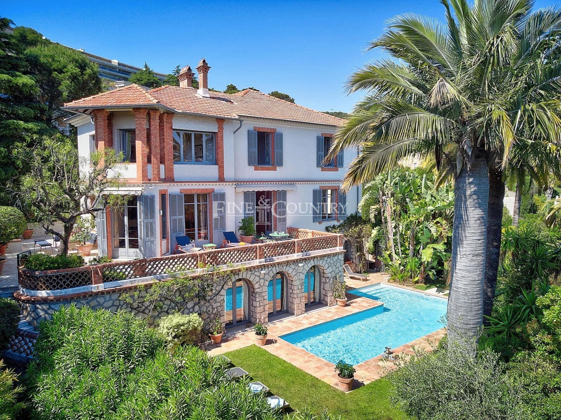 A vendre Villa Belle Epoque Cannes
