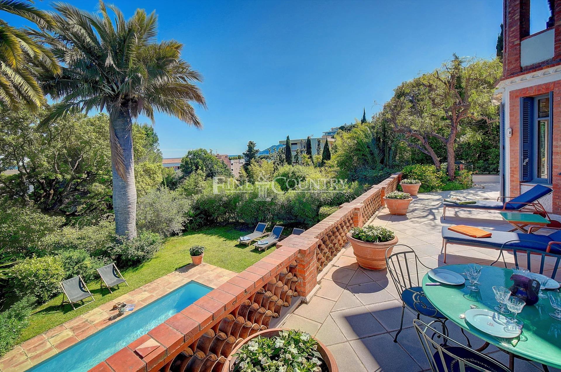 For sale Villa Belle Epoque Cannes