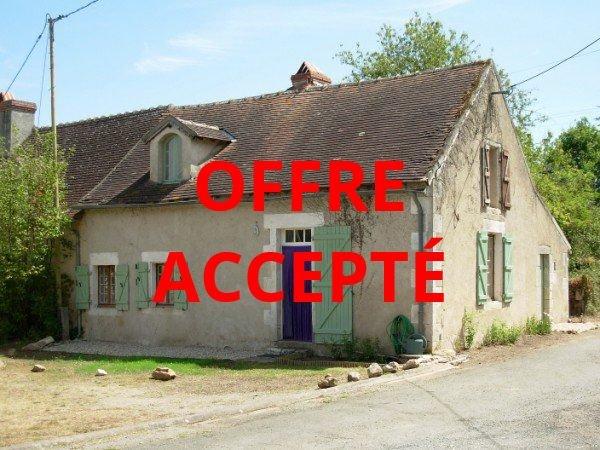 Bij St Savin, Vienne (86): huis op het platteland met tuin